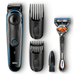 Braun BT3040 Hair / Beard Trimmer for Men – Ultimate precision for 100% control of your style