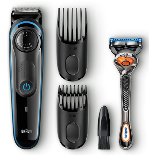 $17Braun BT3040 Hair / Beard Trimmer for Men – Ultimate precision for 100% control of your style
