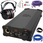 iFi Audio Micro iDSD Black Label Headphone Amp with Monolith M1060 Planar Headphones