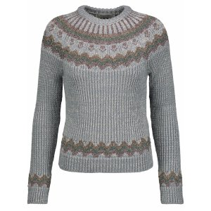 Metallic ribbed intarsia-knit sweater | Valentino | US | THE OUTNET