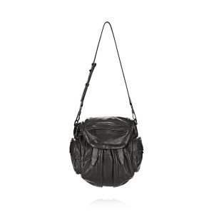 MINI MARTI IN BLACK WITH MATTE BLACK | BACKPACK | Alexander Wang Official Site