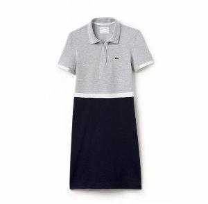 Lacoste Women's SPORT Color Block Polo Dress