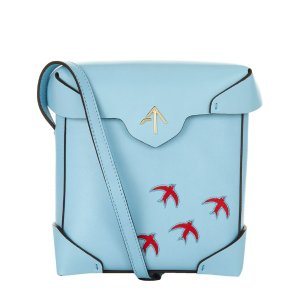 Manu Atelier Mini Pristine Bird Shoulder Bag