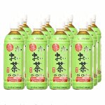 Ito En Tea Beverage, Unsweetened Oi Ocha Green, 16.9 oz. Bottles (Count of 12)
