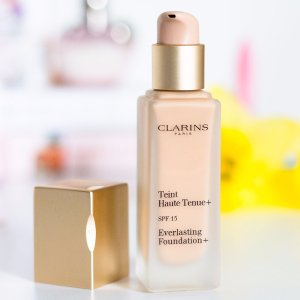 Up to 25% OffEverlasting Foundation+ SPF 15 @ Clarins