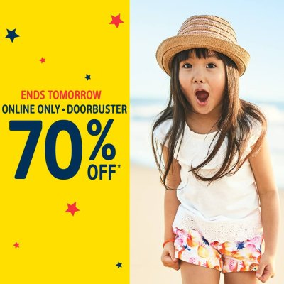 Ends Tonight! 70% Off + Free Shipping $25+