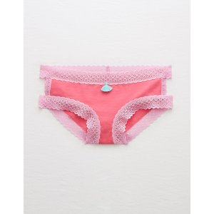 Aerie Cutout Boybrief , NYC Pink | Aerie for American Eagle