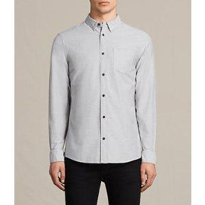 ALLSAINTS US: Mens Stukeley Shirt (Grey)