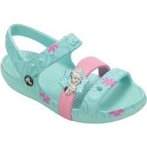 Girls Crocs Keeley Frozen Fever Sandal Kids - FREE Shipping & Exchanges