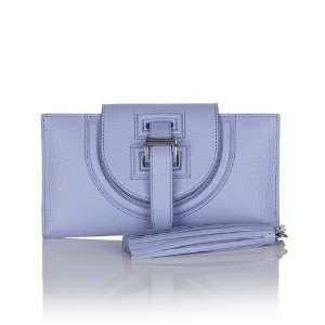 halo wallet and tassel pale lavender