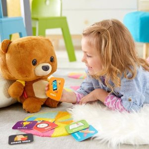 $39Fisher-Price Smart Interactive Bear Toy @ ToysRUs