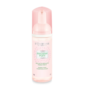 Face Wash For Oily Skin | Peony Purifying Perfecting Foam L'Occitane