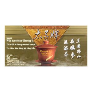 Yamibuy- 美国太子牌 野山花旗参速溶茶  20包入 60g