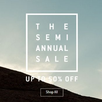 Up to 50% off Top brands