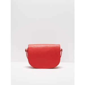 The Piazza Crossbody Satchel in Red | Frank And Oak