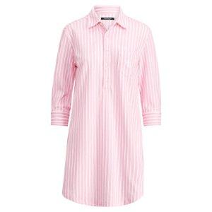 Striped Piqu� Sleep Shirt - Sleepwear & Robes � Women - RalphLauren.com