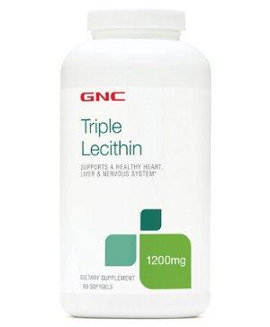 """$11.99 近史低价,新包装GNC 三倍卵磷脂 1200 MG 180粒,""""血管的清道夫"""""""