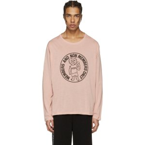 Stella McCartney: Pink Cat T-Shirt |