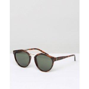 D-Struct | D-Struct Round Sunglasses In Tort