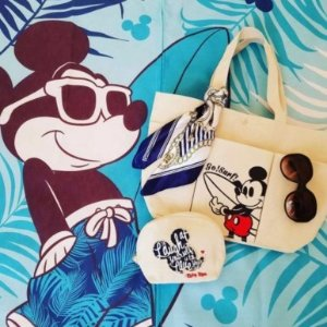 直邮中美!$8.18/RMB56.4日本时尚杂志Sweet 6月刊 附录 赠送 Disney合作款 帆布背包