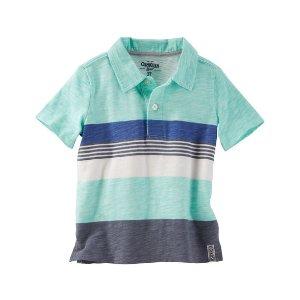 Toddler Boy Engineered Stripe Jersey Polo | OshKosh.com