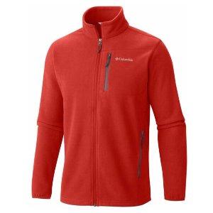 Men's Cascades Explorer Full Zip Fleece Zippered Pockets   Columbia