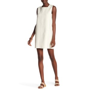 DEREK LAM Sleeveless Wool Shift Dress