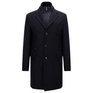 Wool Blend Twill Topcoat | Nadim