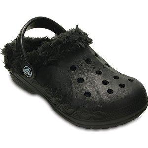 Childrens Crocs Baya Plush Lined Clog Kids - FREE Shipping & Exchanges