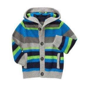 Toddler Boys Laser Blue Stripe Striped Cardigan by Gymboree