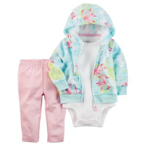 Baby Girl 3-Piece Little Jacket Set | Carters.com