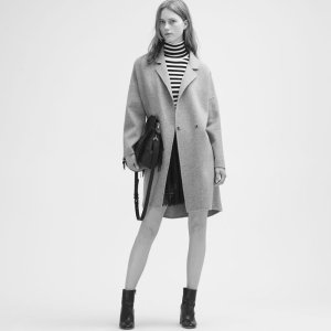 GRIMA Double-sided wool coat