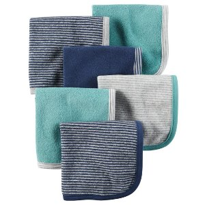 Baby Boy 6-Pack Terry Washcloths | Carters.com