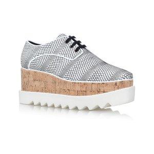 Stella McCartney Elyse Geometric Platform Shoes |
