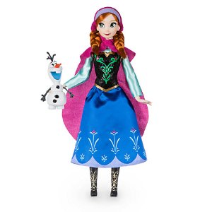 Anna Classic Doll with Olaf Figure - 12'' | Disney Store