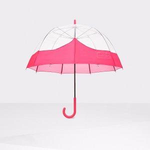 Womens Pink Bubble Umbrella | Official US Hunter Boots Store