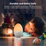 VAVA 4000毫安内置电池 LED 护眼鸡蛋小夜灯