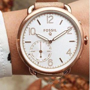 $58.90 (原价$155)史低价:FOSSIL Q Tailor 时尚智能腕表 多色款