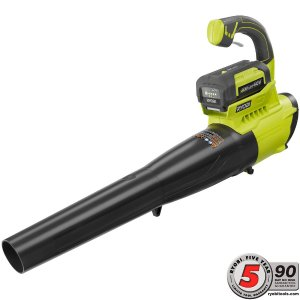 Ryobi 155 MPH 300 CFM 40-Volt Lithium-Ion Cordless Jet Fan Blower - 2.6 Ah Battery and Charger Included-RY40411 - The Home Depot