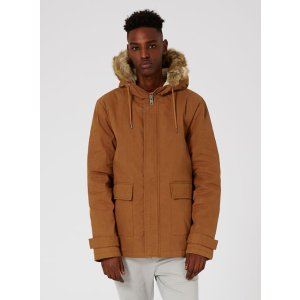 Rust Short Parka - View All Clearance - Clearance - TOPMAN USA