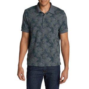 Men's Field Short-sleeve Polo Shirt - Print   Eddie Bauer