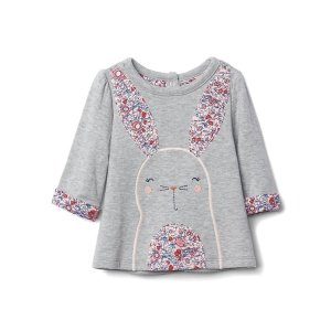 Graphic double-knit pullover