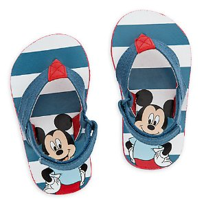 Mickey Mouse Flip Flops for Baby | Disney Store