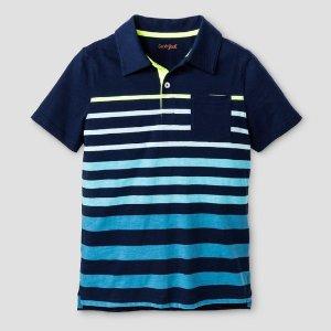 Boys' Polo Shirt Cat & Jack™ - Navy Voyage : Target