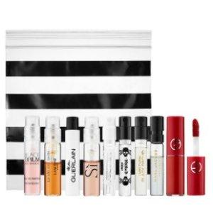 送8件香水小样+红管400小样Sephora.com 美妆护肤任意购满$35送好礼