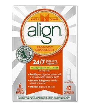 $19Align Daily Probiotic Supplement, Probiotics Supplement, 42 Capsules