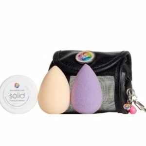 beautyblender® air.port.pro Makeup Sponge Applicator & Small Cosmetics Bag Set ($66 Value)