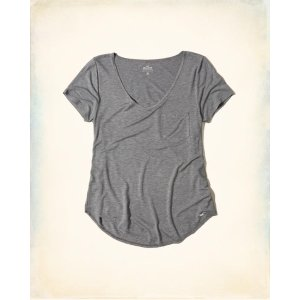 Girls Must-Have Easy T-Shirt | Girls Up to 50% Off Summer Sale | HollisterCo.com