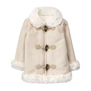 Faux-Fur Collar Jacket