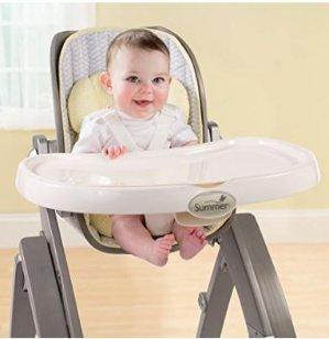 $89.99Summer Infant Bentwood 可折叠儿童高脚餐椅